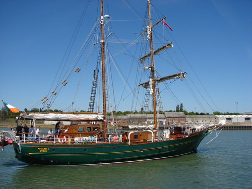 Asgard II sail training ship