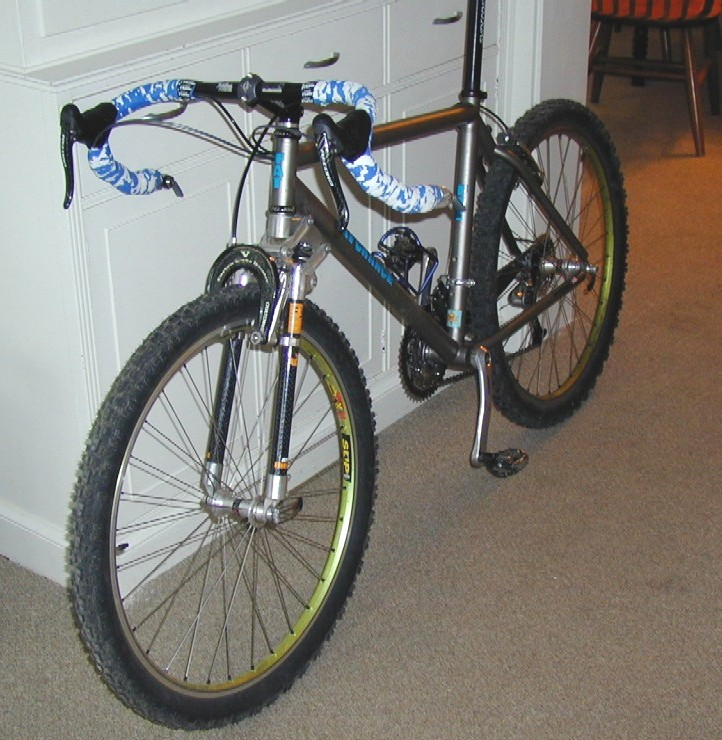 Mtn Bike To Cross Bike Conversions Anyone Done One Pics And