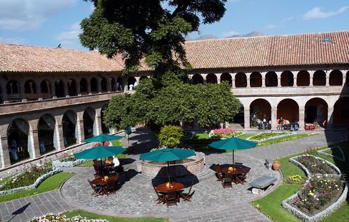 Hotel Monasterio Courtyard por Hazelbrae.