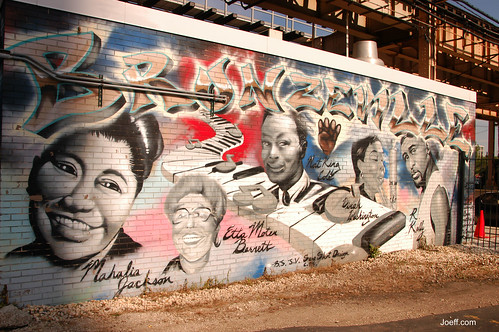 Mural in Bronzeville, Chicago