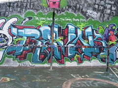 Revok MSK (Tatty Seaside Town) Tags: graffiti brighton graf msk revok tarnerland august2006 tattyseasidetown