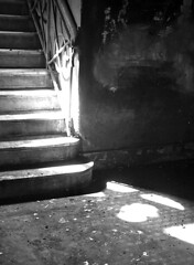 EnD (Al Santos) Tags: light brazil bw luz brasil stairs maria ruin pb vila escada paulo so solido degraus solitudine zlia reuinas