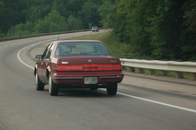 auto car century buick highway automobile boring dull