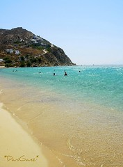 Mykonos - Elia beach (*DaniGanz*) Tags: blue sea beach water island gold interestingness sand mare explore greece grecia acqua azzurro spiaggia cyclades mykonos mediterraneansea azur mikonos oro sabbia isola cicladi marmediterraneo kyklades eliabeach daniganz flickrsexplore goingtoexplore top20greece