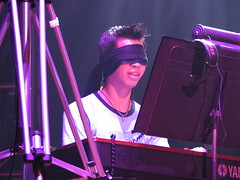 Martin Leung Blindfolded at Video Games Live i...