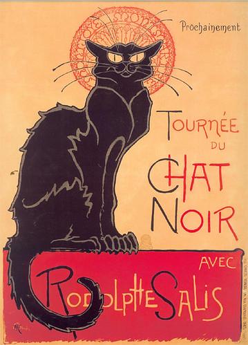 Theophile Steinlen, Tournée du Chat Noir, 1896
