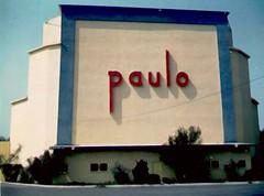 Paulo Drive In (JM L) Tags: retail theatre drivein signage shopwindow 1960s paulo orangecounty costamesa postcardsfromheck