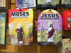 Moses and Jesus Action Figures