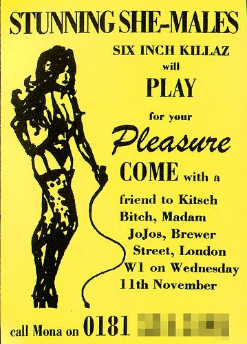 Prostitute card