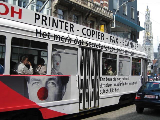 Printing on line 3