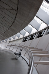 American Air Museum, Duxford (James Thorpe Photography) Tags: building museum geotagged concrete grey war steel air american duxford imperial handrail curve curved stainless balustrade geotoolgmif geolon0125957 geolat52092428