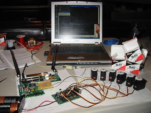 Yamato: Linksys router servo controller