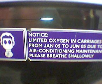 Limited Oxygen