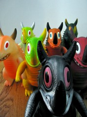 Gamagon Stampede (geozilla) Tags: monster japan toy toys japanese tokyo tim vinyl statues godzilla plastic sciencefiction monsters creature geo makebelieve biskup omni kaiju   super7  neokaiju hedorah daikaiju sofubi gamagon geozilla  omnimonster