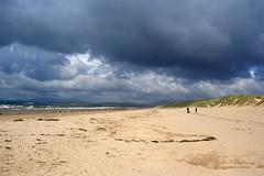 Dark clouds drift away to reveal...