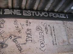 bne estuvo aqui (hola_mossos) Tags: madrid graffiti tag dirty vandalism bne bneestuvoaqui