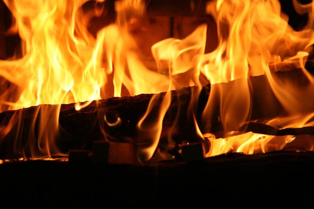 Evening's Fire, Highlands Inn, Carmel