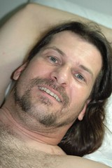 Gos in bed (Saveena (AKA LHDugger)) Tags: portrait man sexy male guy face person goatee all texas head no tx handsome houston lisa any h human rights form written lover myfavorite gossamer without usage reserved gos allowed consent dugger saveena  saveena