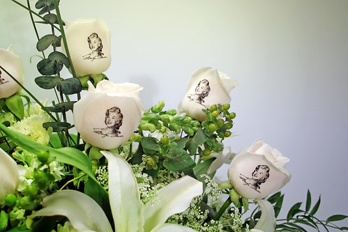 Marilyn Monroe bouquet