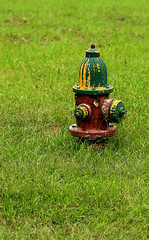 Hydrant (Jack of Nothing) Tags: old hydrant rusty greystone stuhorvath