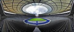 Oly Berlin (Stefan D2) Tags: panorama berlin germany stadiums pano soccer depressed stadion dri fusball olympiastadion dynamicrangeincrease footbool