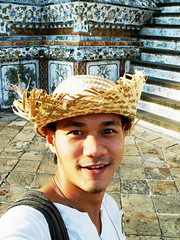 Me in the hat (.Live.Your.Life.) Tags: man thai liveyourlife