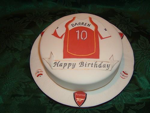 Football lover's cake