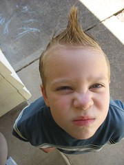 """""""What you lookin at?"""" (ShannonAnne13) Tags: hair hawk drew andrew fohawk tc63above"""
