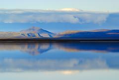 Parallel Worlds (-RobW-) Tags: day2 lake reflection water iceland sony alpha a100 sonyalpha blnduln blonduvirkjun sony1870 blondulon