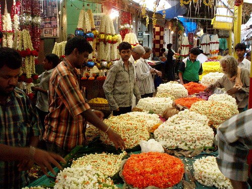 Flower making and selling