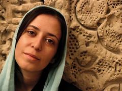 I'm an IRNIAN GIRL and love my background. (HORIZON) Tags: portrait face iran horizon persia portraiture iranian esfahan isfahan theface faral