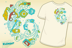 "Paint by Slumber - Threadless loves ""Science of Sleep"" (invisibleElement) Tags: design threadless invisibleelement scienceofsleep"
