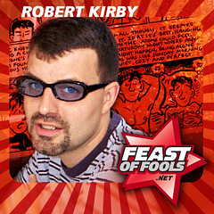 Cartoonist Robert Kirby on the Feast of Fools podcast