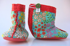 Hoppers Boot Booties (olilo-designs) Tags: boy rabbit bunny girl set toy boots etsy onesies stuffie olilo etsykids