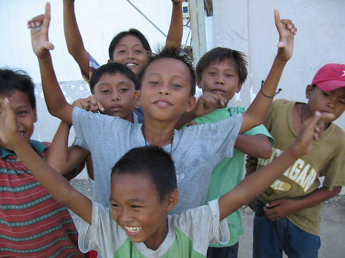 street kids in mactan