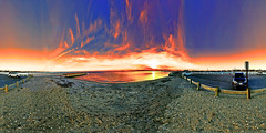 Patchogue Dock Beach Autumn Sunday Sunset 360 4 Panorama 2x1 - IMRAN (ImranAnwar) Tags: 2016 360 beach boardwalk boating boats clouds dock dusk eastpatchogue equirectangular flickr geography greatsouthbay history homes imran imrananwar inspiration iphone iphone7 lake landscape landscapes life lifestyles longisland marina marine nature newyork nikon outdoor outdoors panorama patchogue peaceful philosophy photoshop red sea seaside seasons sky spherical sun sunset tranquility travel water yachting