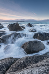 Waves (Keith - Glasgow) Tags: arctic wildphotographyholidays wph beach seascapes winter travel norway sea lofoten uttakleiv rocks landscapes coast d850 shore nordland no