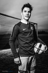 The Next Legend ... (Sam' place) Tags: 2018 ball boy dirt football grass portrait profoto profotob1 soccer outdoor