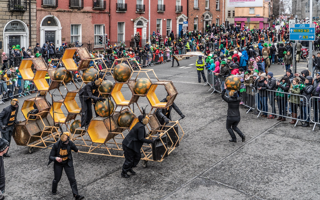 INSECTOPIA BY SPAORI [DUBLIN PARADE 17 MARCH 2018]-137725