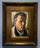"""""""Selbstbildnis"""" / Gemälde von Jakob Nussbaum, 1927 (S. Ruehlow) Tags: museum städelmuseum städel museumsufer schaumainkai frankfurt sachsenhausen gemälde nussbaum maler jakobnussbaum impressionismus frankfurtcronbergerkünstlerbund 1927"""