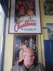Café in Montmorency, Melbourne (d.kevan) Tags: cafés montmorency melbourne australia richard posters windows casablanca belleepoque