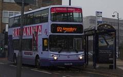 Huddersfield (Andrew Stopford) Tags: kp51wca volvo b7tl alexander alx400 first huddersfield