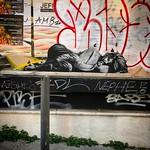 Collages urbains à Marseille, mars 2017