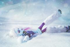 Cold Fusion (GothGeekBasterd) Tags: mattel monsterhigh doll yeti abbey bominable abominable snowman winter cold walk fall dawn snowy play angel dead tired basic ghoul freak