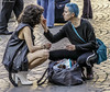 Make-up on the street (BORGHY52) Tags: street makeup trucco modella truccatrice donne complicitafemminile