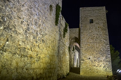 Castillo de Santa Catalina, torre albarrana (ipomar47) Tags: castillo castle fortress santacatalina castillodesantacatalina castillodejaen jaen andalucia españa spain monumentohistoricoartistico pentax k3ii noche night nocturna nighttime