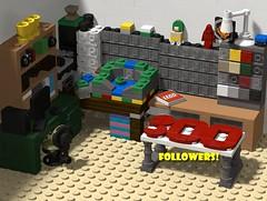 300 Followers! (Philosophical Bricks) Tags: 300 followers afol flickr lego studio love awesomesauce