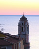 tellaro sunset (poludziber1) Tags: skyline sky sea sunset city colorful cityscape color pink travel tellaro light liguria italia italy