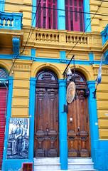 Buenos Aires (makingacross) Tags: buenos aires argentina buenosaires city la boca laboca barrio colour colourful museo de cera doors nikon d3000