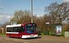 A new location... (SRB Photography Edinburgh) Tags: lothian buses bus edinburgh wester hailes west road repaint madder single decker
